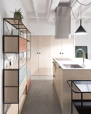 公寓旧房改造厨房装潢设计