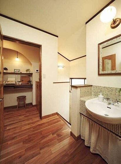 日式卫生间设计图片