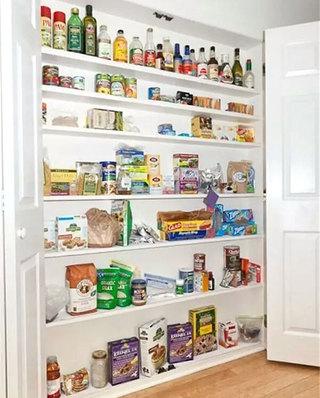 厨房壁橱收纳设计效果图