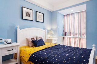 89㎡美式两居室儿童房效果图