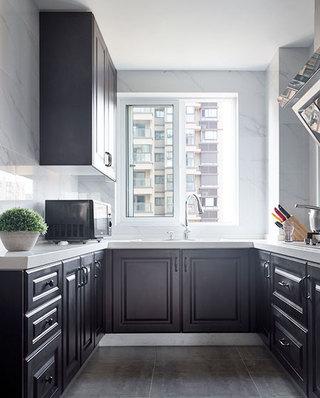 108平北欧风格厨房装潢图
