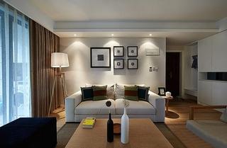 好看又舒适的新家 130平三室两厅装修客厅效果图