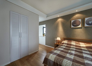 好看又舒适的新家 130平三室两厅装修卧室效果图