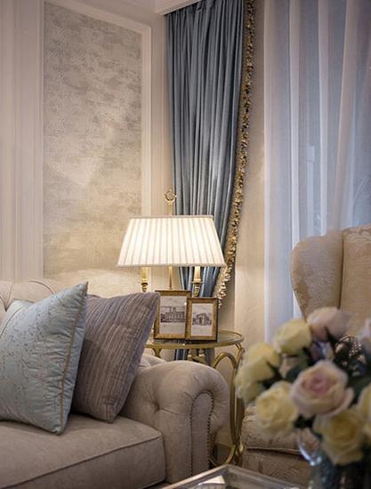 这样的新家太美!将美式风格装修的优势发挥到极致布艺沙发
