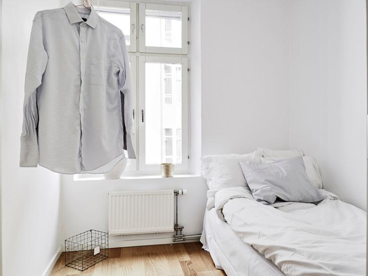 明亮极简北欧风小卧室设计