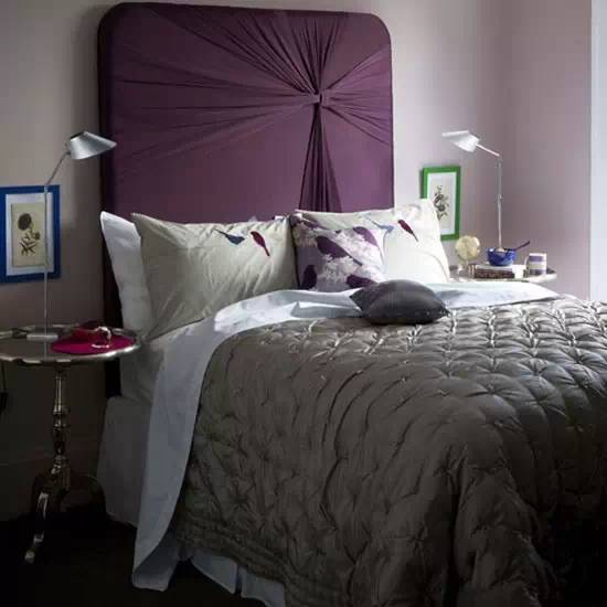 超创意床头背景墙,个性床头布置学起来