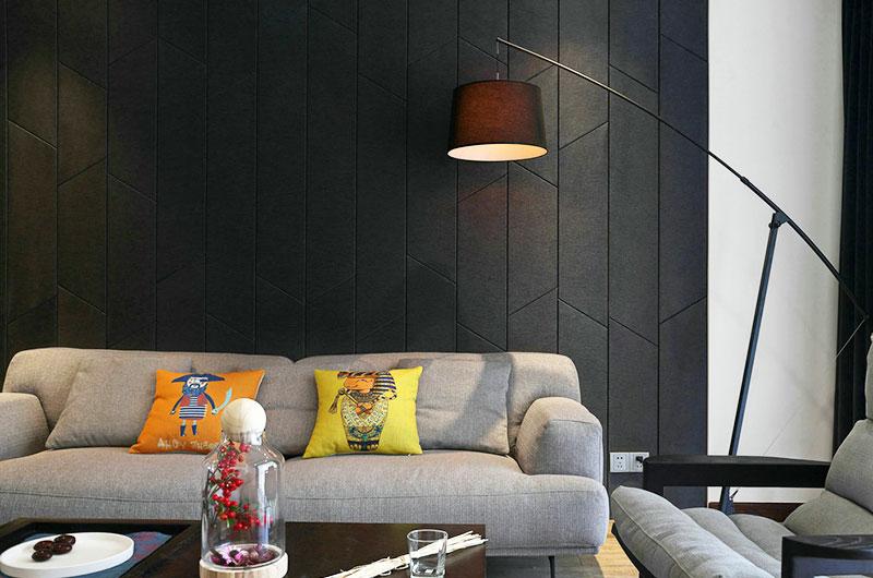 简约风格花园洋房客厅沙发图片