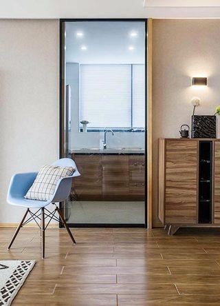70㎡现代简约二居室厨房效果图