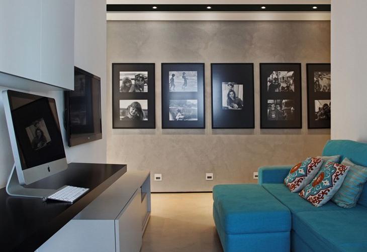 品质生活展现 极简美式风格装修布艺沙发