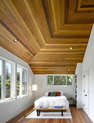 卧室木质吊顶装修设计