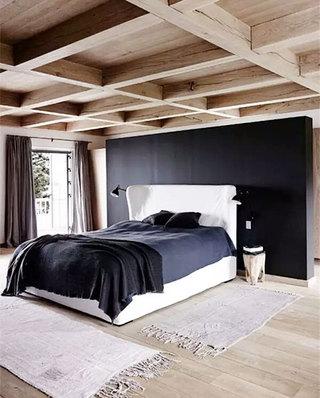 卧室木质吊顶装潢图片