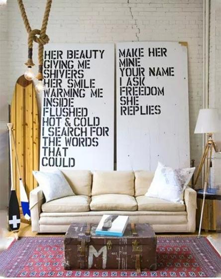 客厅背景墙欣赏效果图