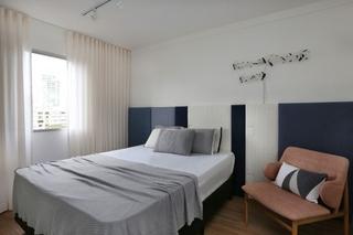 清爽简洁北欧风卧室设计图