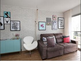 空间紧致小户型设计 温馨的一室一厅设计