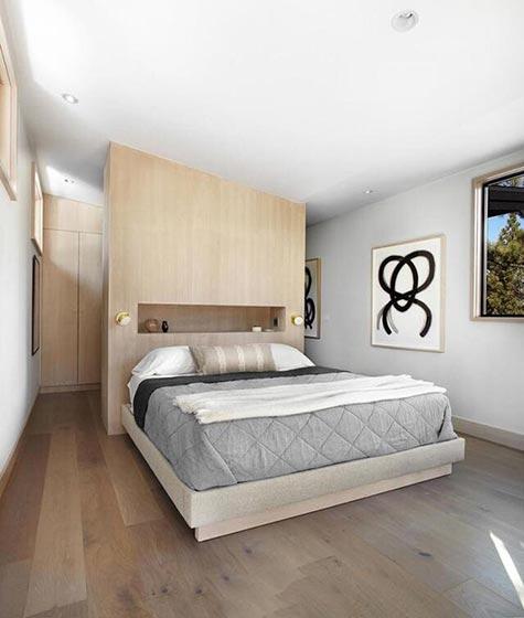 简约卧室布置装修图