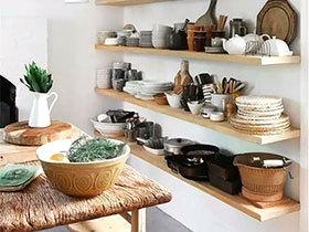10个厨房墙面收纳设计图 让厨房告别凌乱