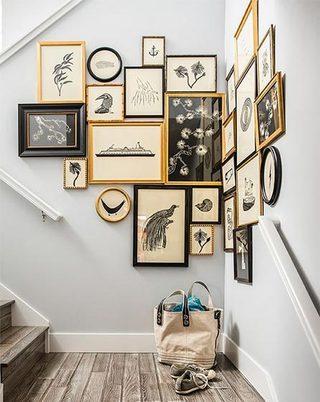 室内装饰画布置欣赏图