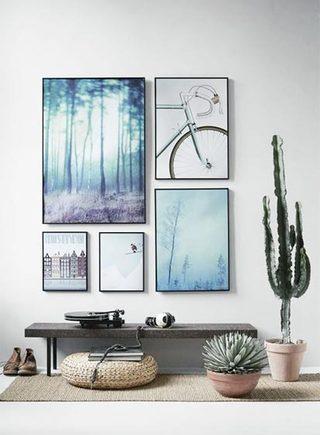 室内装饰画装修平面图