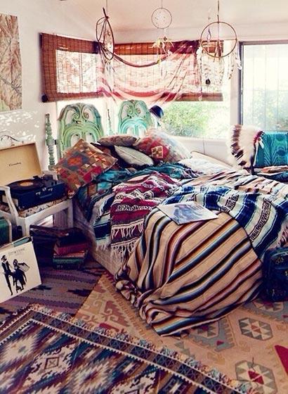 波西米亚风格卧室设计图片大全