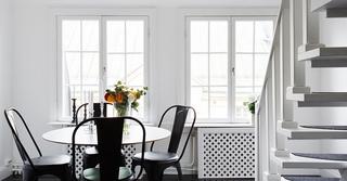 北欧风格公寓装修餐厅装潢图
