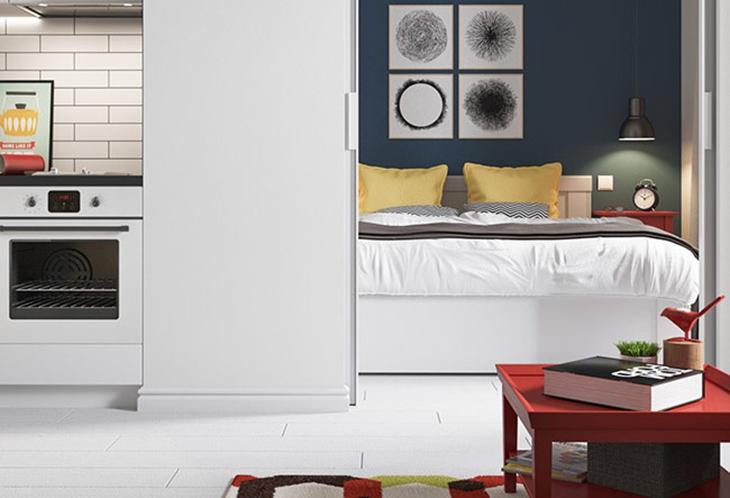 惊艳旧房改造 让室内更多一些时尚气息卧室设计