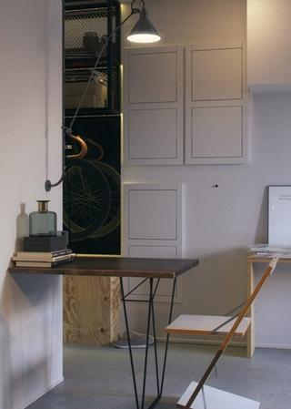 小户型公寓装修餐厅设计图
