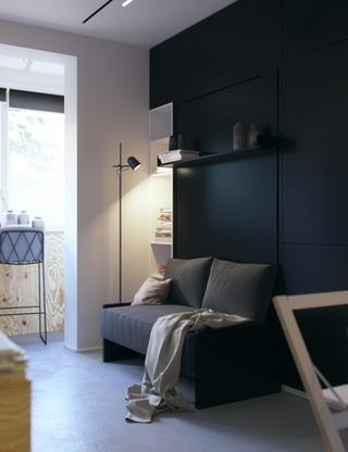 小户型公寓装修客厅装潢设计
