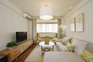 88㎡日式两居室整体效果图