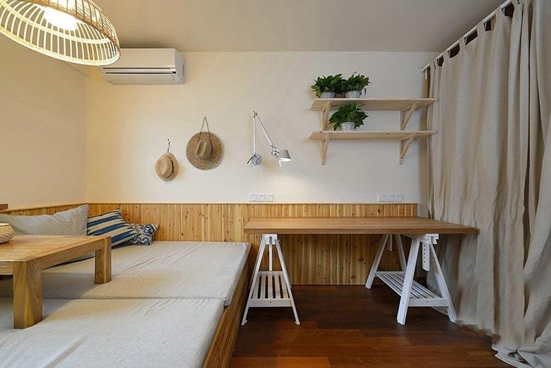 88㎡日式两居室卧室参考图