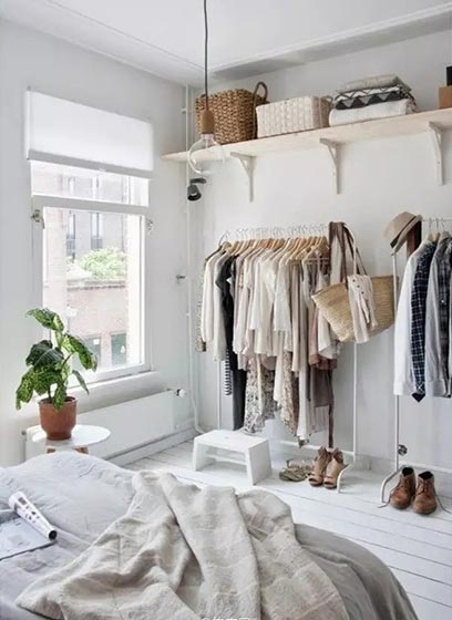 卧室衣柜收纳装修图片