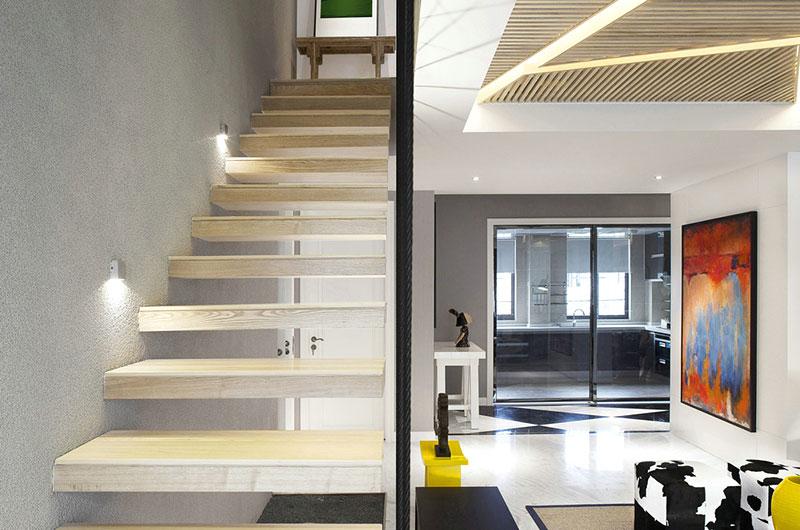 简约风格小复式楼梯装修图