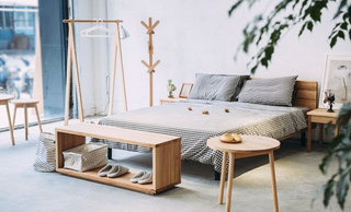 经典日式风格卧室效果图