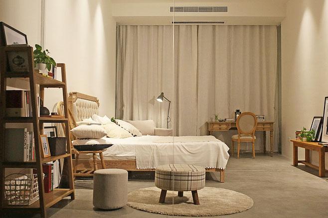 日式风格卧室设计装饰图