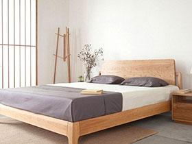 10个日式风格卧室效果图 享受禅意和风