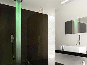 创意花洒设计图 打造有意思的卫浴间