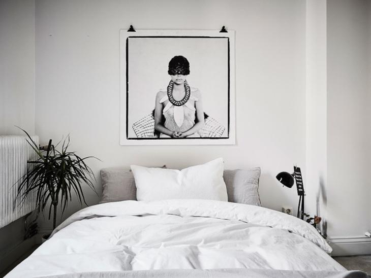 简洁白色调 让北欧风更加舒适北欧风卧室