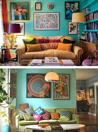 客厅色彩搭装修装饰效果图