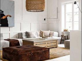 复古与艺术将结合  营造美妙的小户型空间