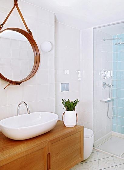 现代风卫生间装修装饰效果图