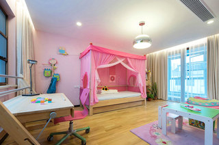 260平联排别墅儿童房效果图装修