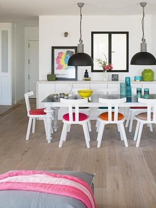 软装点缀北欧风格装修 让室内更多一些活力餐厅效果图