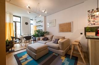 搭积木式小户型设计 让家温暖起来小客厅设计