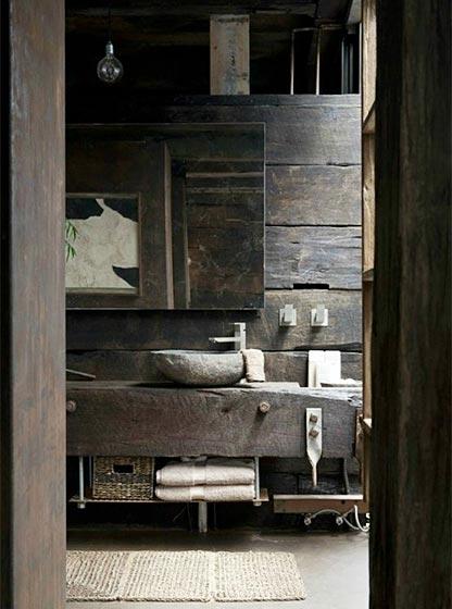 复古风浴室设计布置图