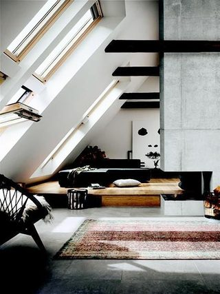 阁楼天窗布置实景图