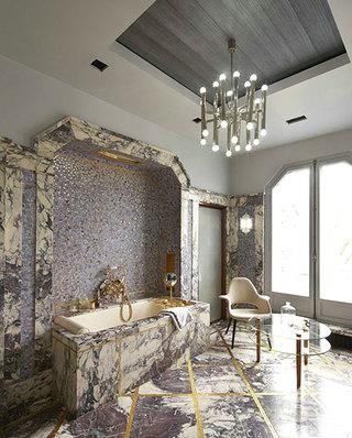 现代风格公寓主卫生间设计