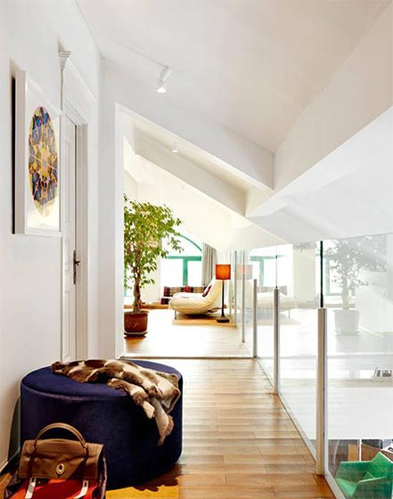 创意阁楼设计实景图片