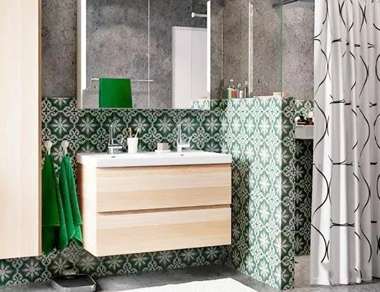 卫生间洗手台装修效果图
