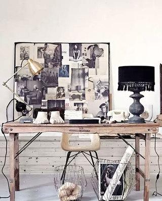 书房背景墙装饰画图片