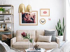 10个时尚客厅吊灯设计图 配角也能凹造型