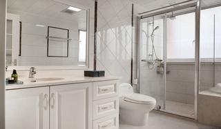 美式风格公寓主卫生间装修